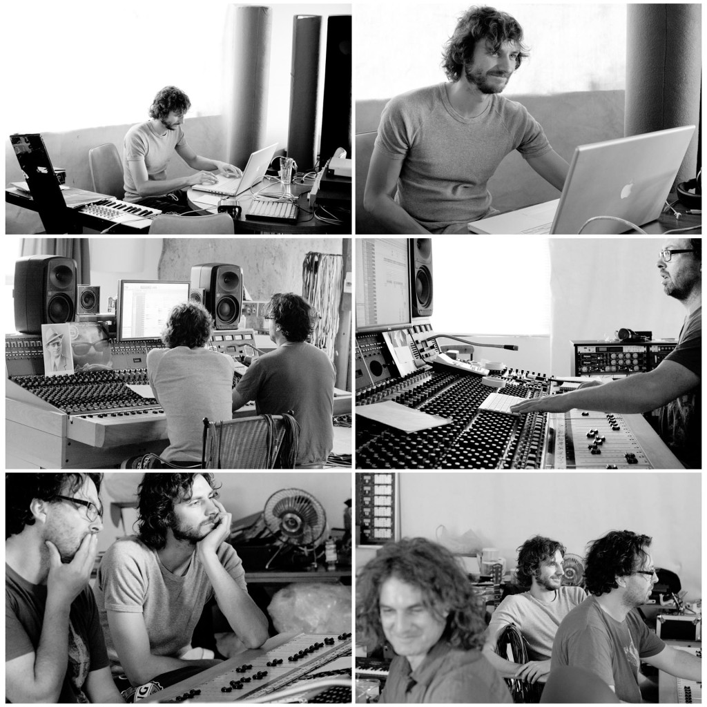 Photography of Gotye Making mirrors